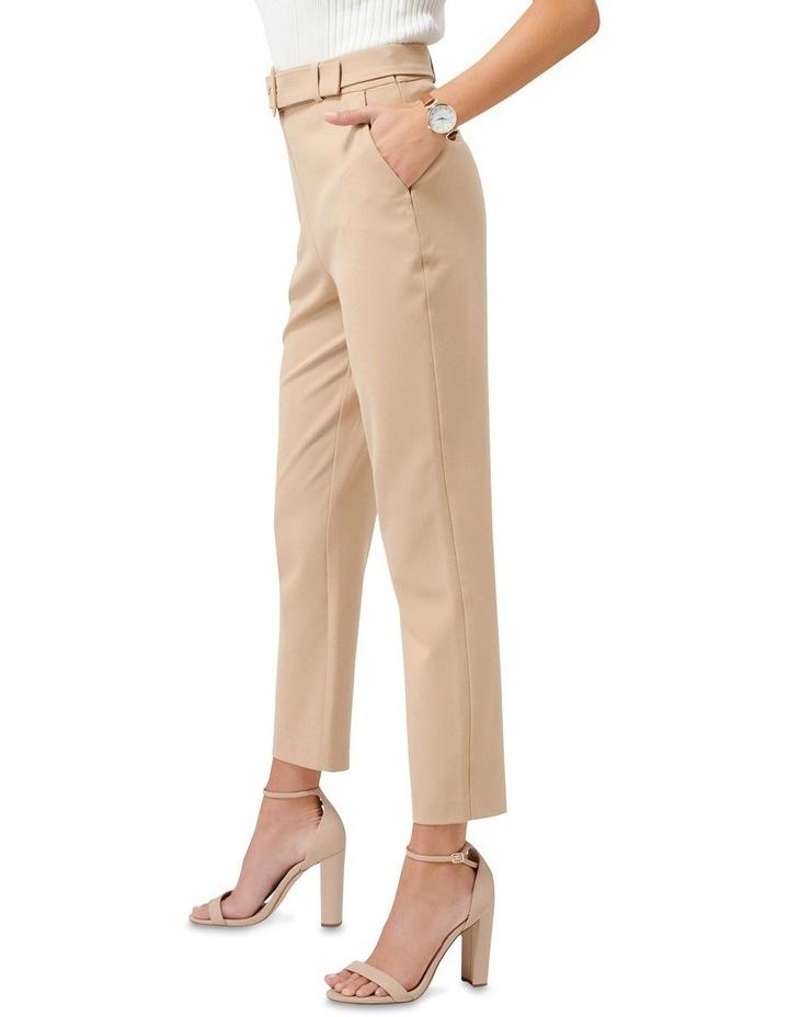 Emelia High Waist Belted Pants image 2