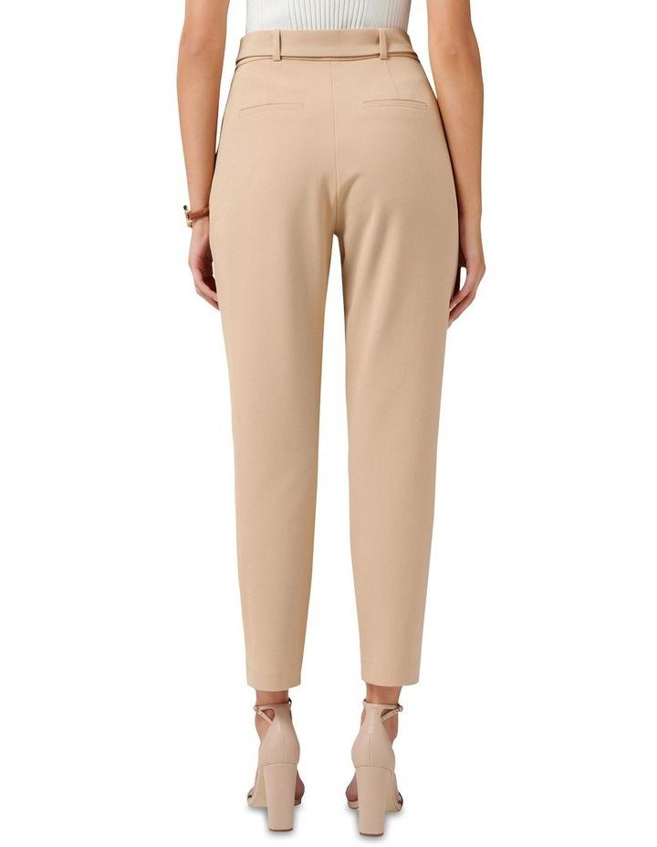 Emelia High Waist Belted Pants image 3