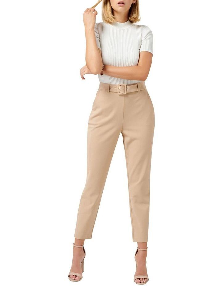 Emelia High Waist Belted Pants image 4