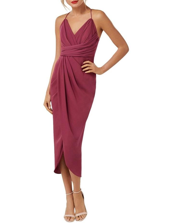 Charlotte Drape Maxi Dress Petite image 1