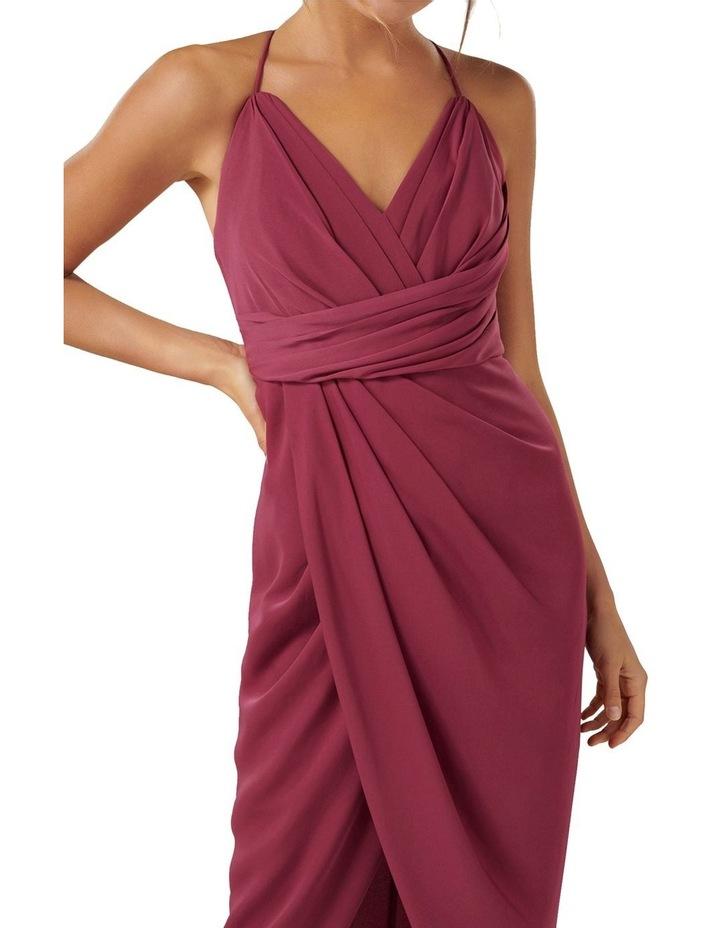 Charlotte Drape Maxi Dress Petite image 2