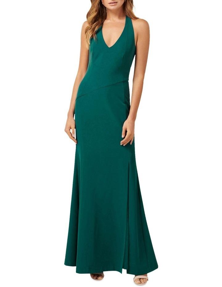 Adelaide  Halter Neck Maxi Dress image 1
