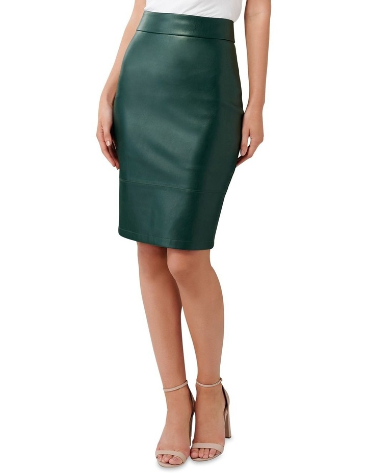 Amy PU Pencil Skirt image 1