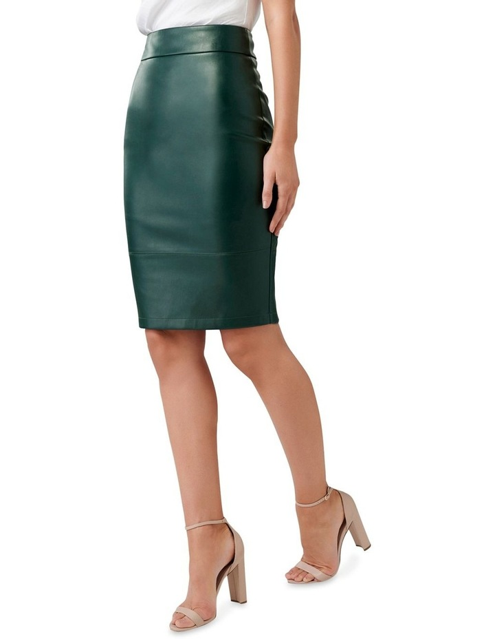 Amy PU Pencil Skirt image 2
