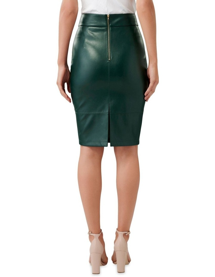 Amy PU Pencil Skirt image 3