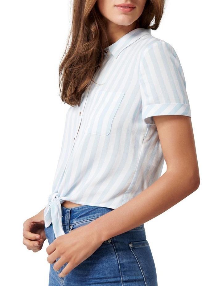 Annie Short Sleeve Tie Front Shirt image 2