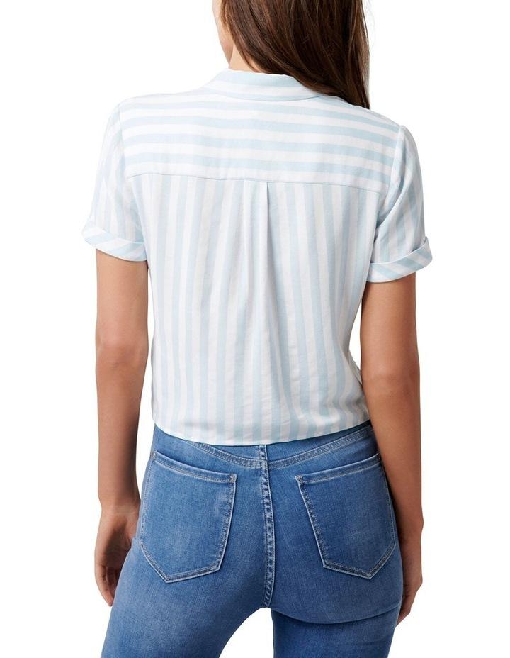 Annie Short Sleeve Tie Front Shirt image 3
