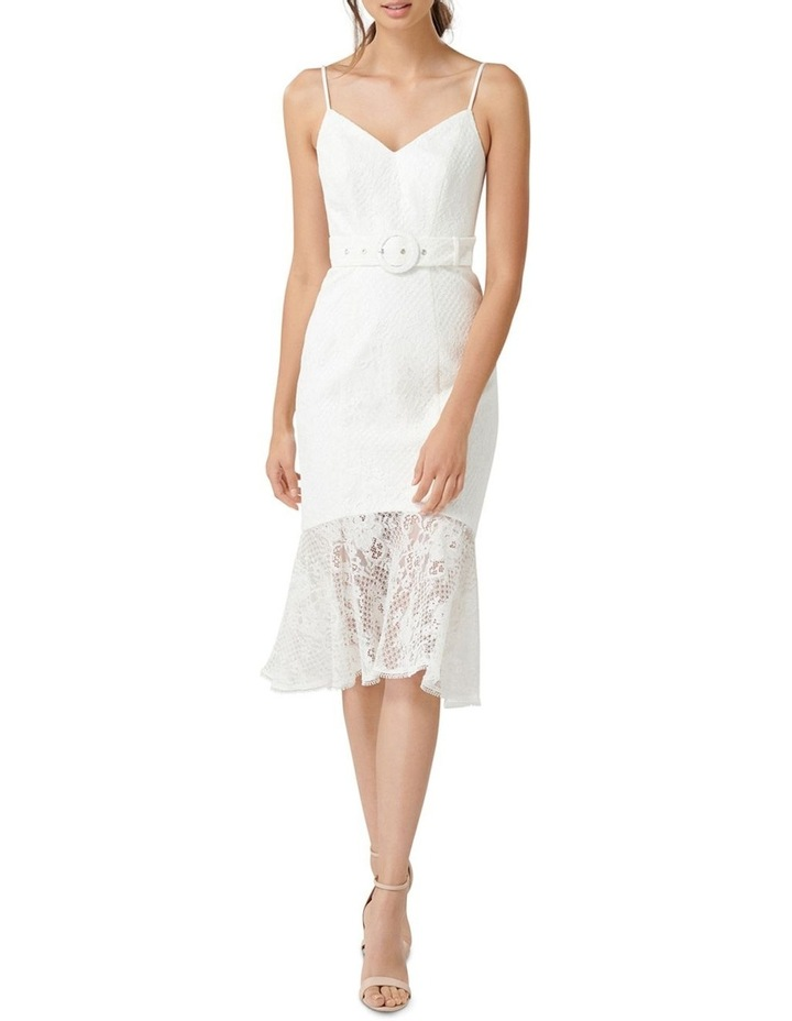 Erika Belted Lace Dress image 1