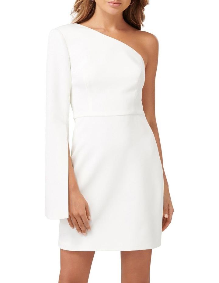 Sophia One Sleeve Mini Dress image 1
