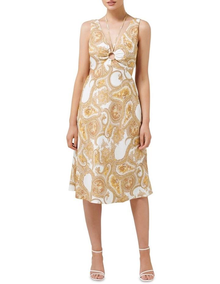 Brianna Cut Out Midi Dress image 1