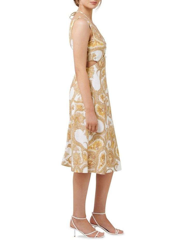 Brianna Cut Out Midi Dress image 3
