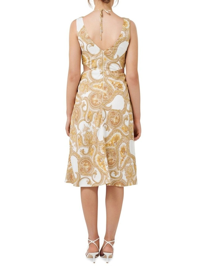 Brianna Cut Out Midi Dress image 4