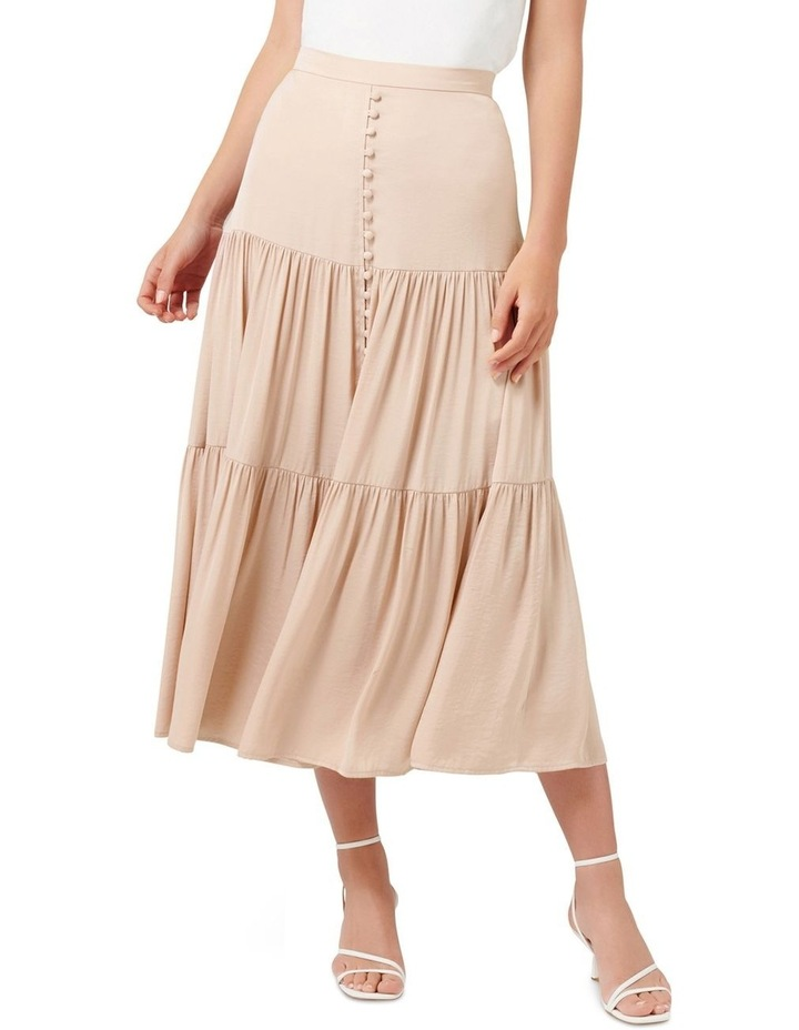 Lilly Petite Tiered Maxi Skirt image 1