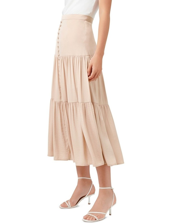 Lilly Petite Tiered Maxi Skirt image 2