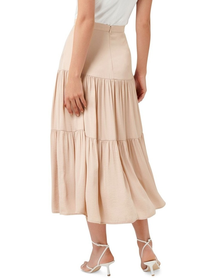 Lilly Petite Tiered Maxi Skirt image 3