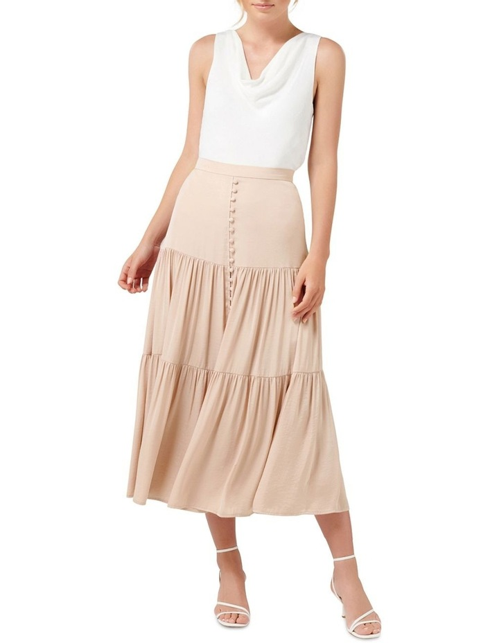 Lilly Petite Tiered Maxi Skirt image 4