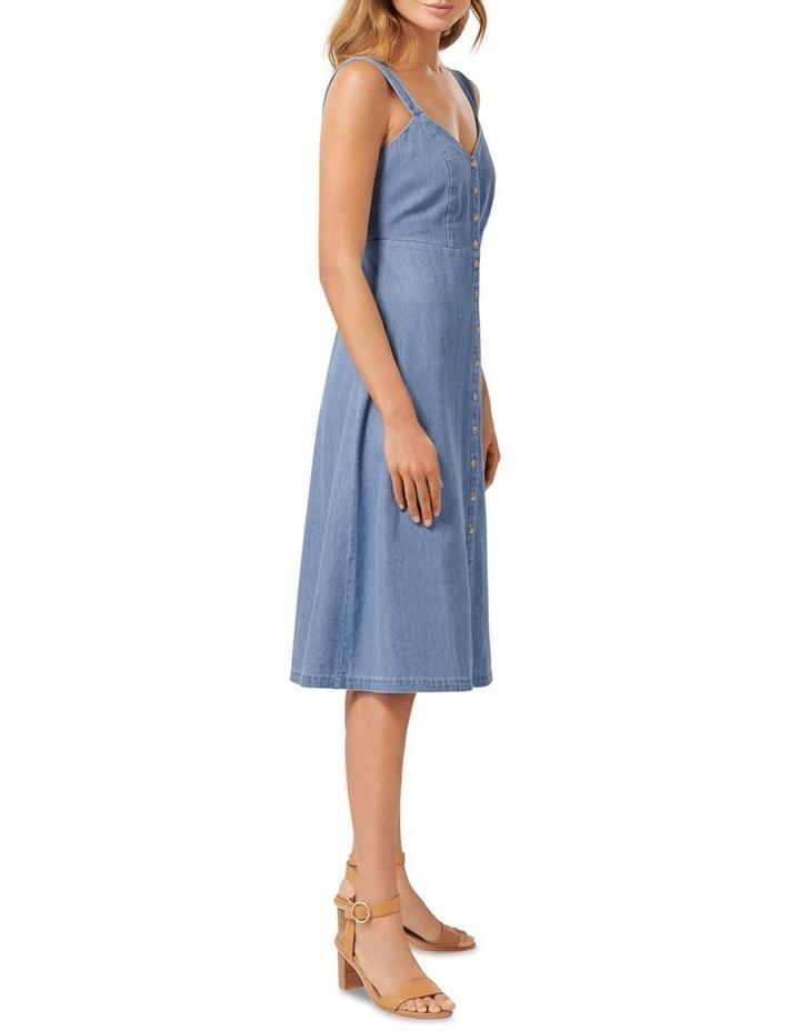 Giselle Denim Midi Dress image 1