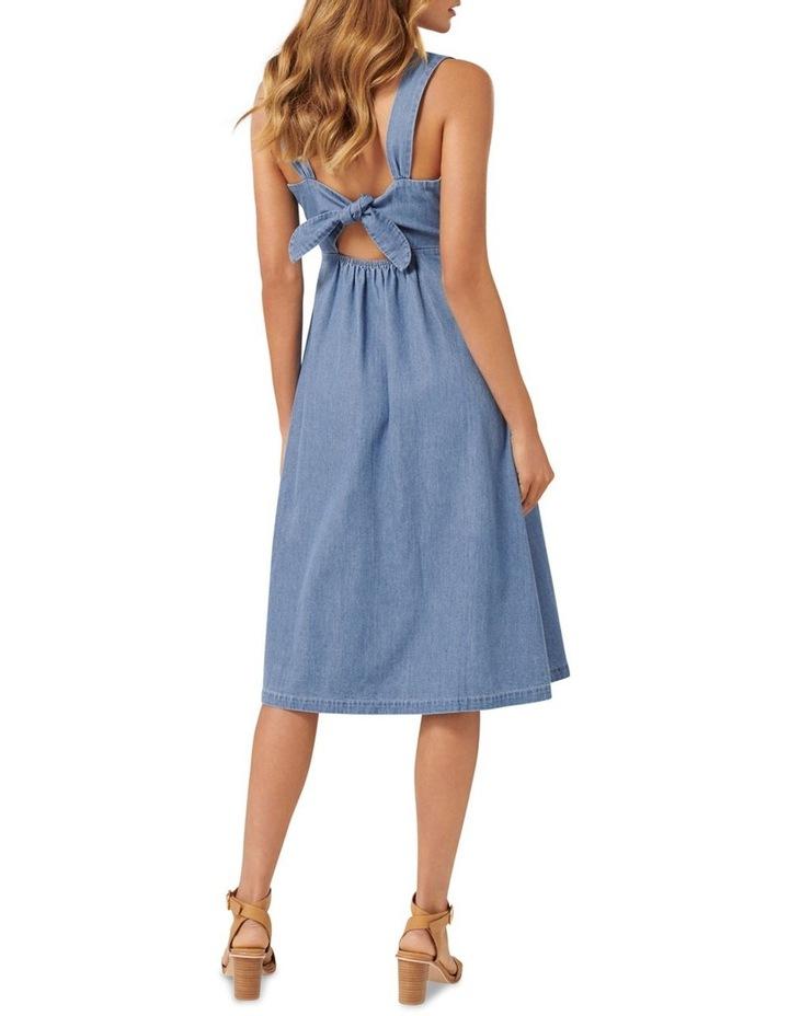 Giselle Denim Midi Dress image 2