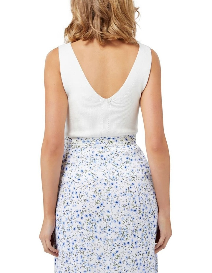 Aimee V Neck Knitted Tank image 3