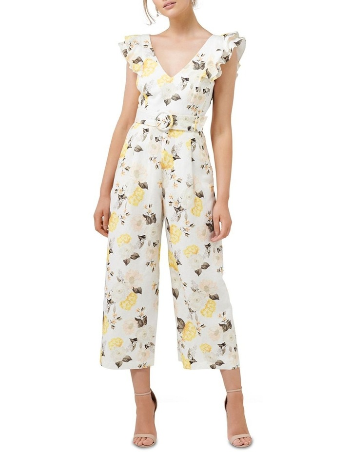 Lucille Frill Sleeve Jumpsuit image 1