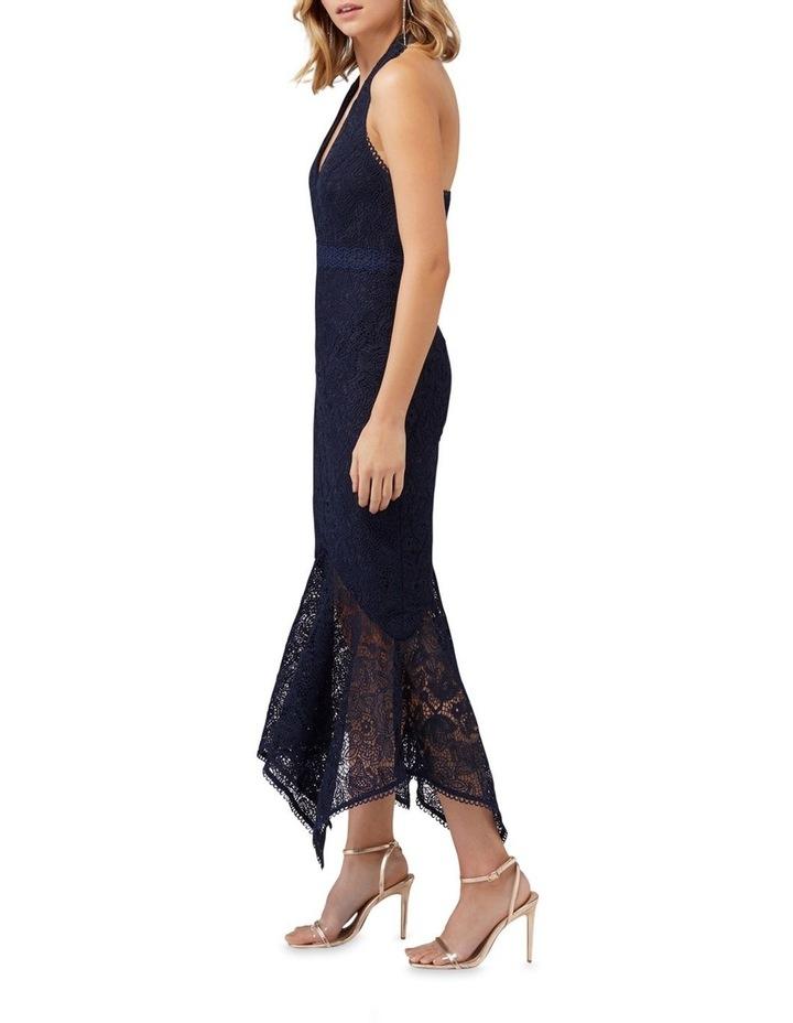 Tomeeka Halter Neck Lace Midi Dress image 2