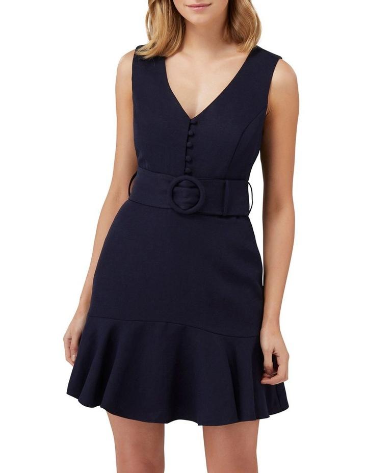 Pauline Belted Flippy Hem Dress image 1