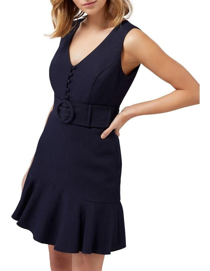 Pauline Belted Flippy Hem Dress image 2