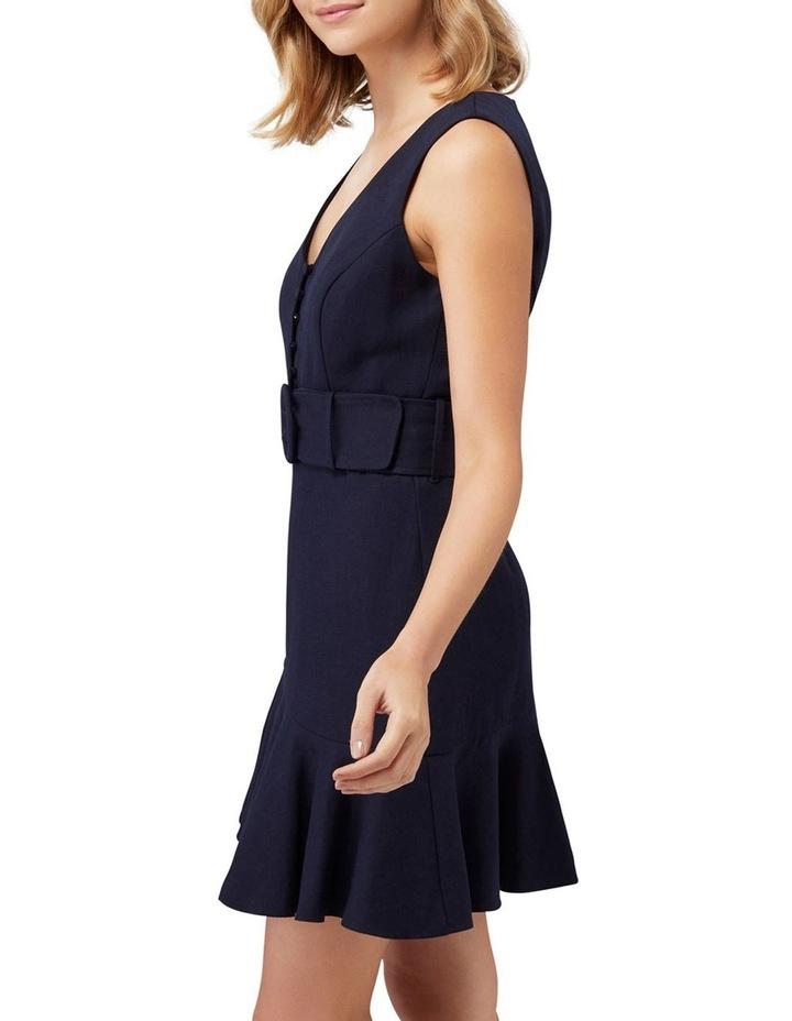 Pauline Belted Flippy Hem Dress image 3