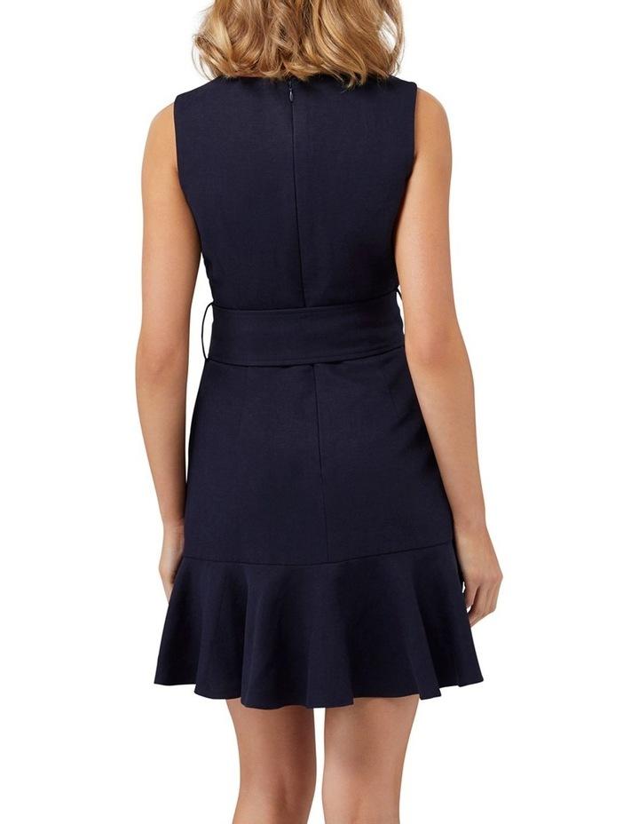 Pauline Belted Flippy Hem Dress image 4