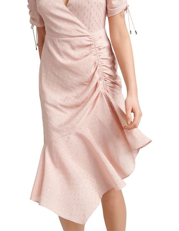 Aleena Rouched Asymmetric Wrap Dress image 2