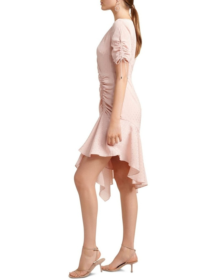 Aleena Rouched Asymmetric Wrap Dress image 3