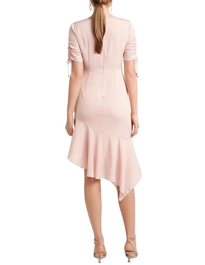 Aleena Rouched Asymmetric Wrap Dress image 4