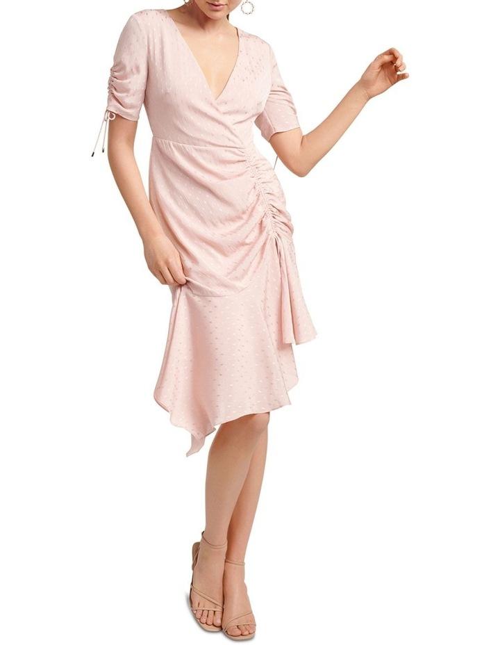 Aleena Rouched Asymmetric Wrap Dress image 5
