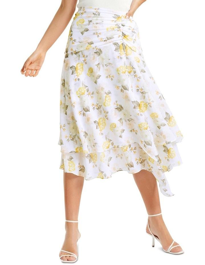 Lara Ruched Layered Skirt image 1