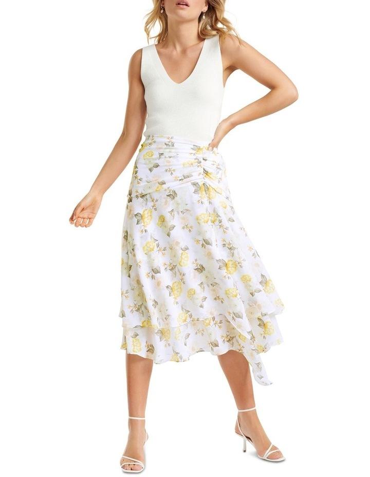 Lara Ruched Layered Skirt image 4