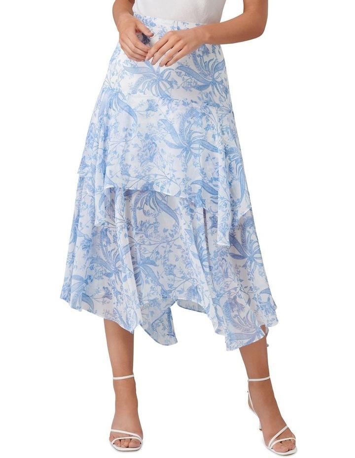 Avery Tiered Midi Skirt image 1
