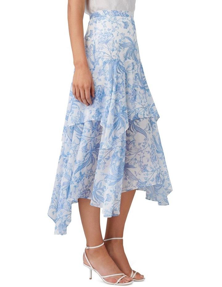 Avery Tiered Midi Skirt image 2