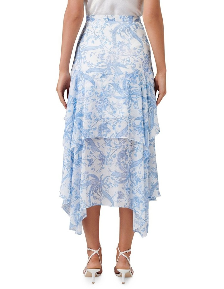 Avery Tiered Midi Skirt image 3
