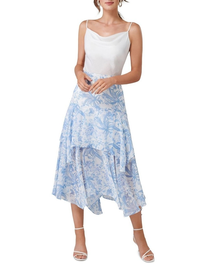Avery Tiered Midi Skirt image 4
