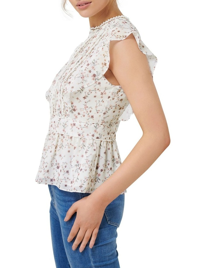 Astrid Pintuck Splice Blouse image 2