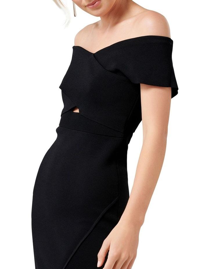 Luna Cross Front Bardot Knit Dress image 2