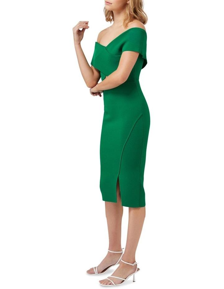 Luna Cross Front Bardot Knit Dress image 3