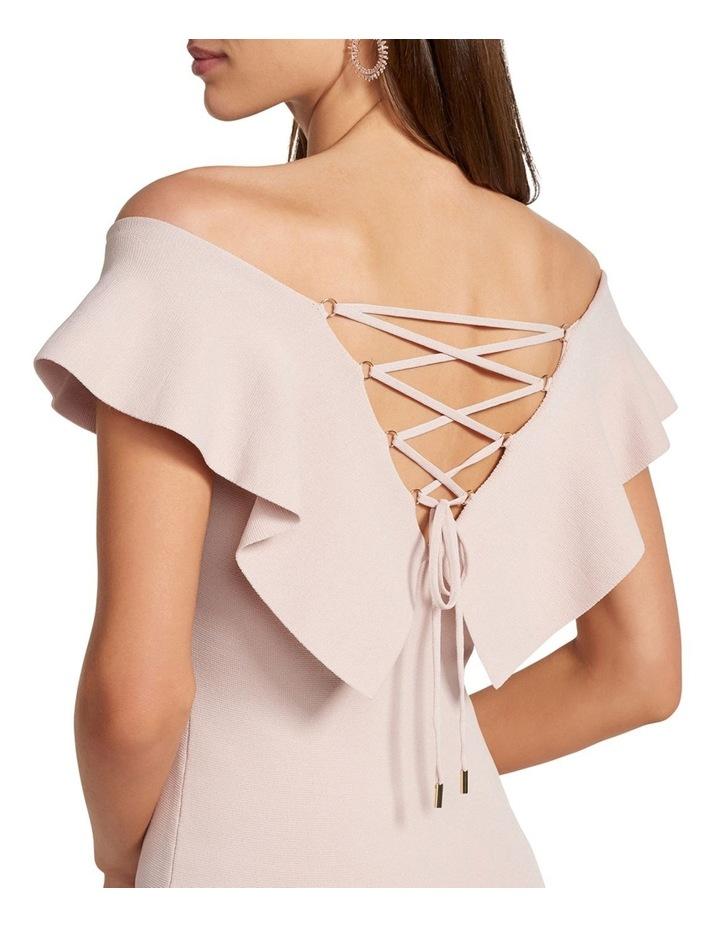 Sharna Frill Bardot Knit Dress image 2
