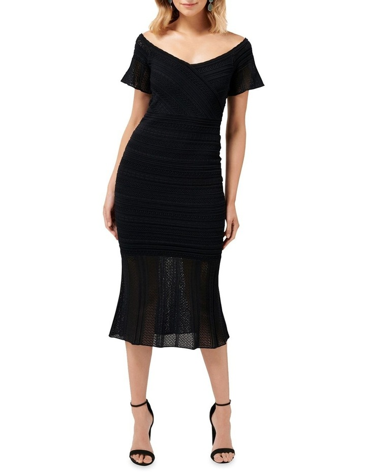 Dana Pretty Stitch Knit Dress image 1