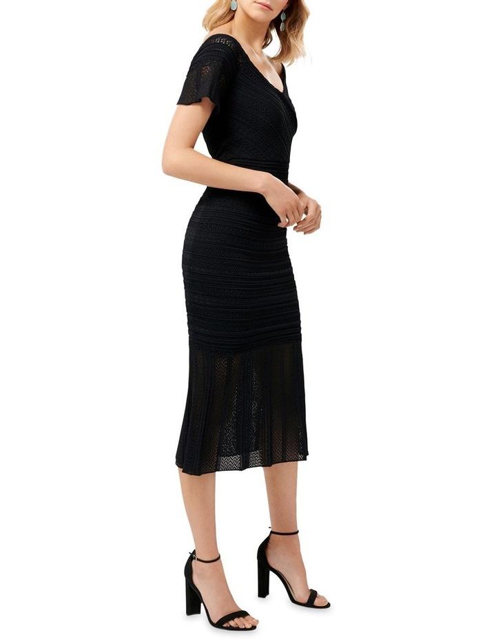 Dana Pretty Stitch Knit Dress image 3