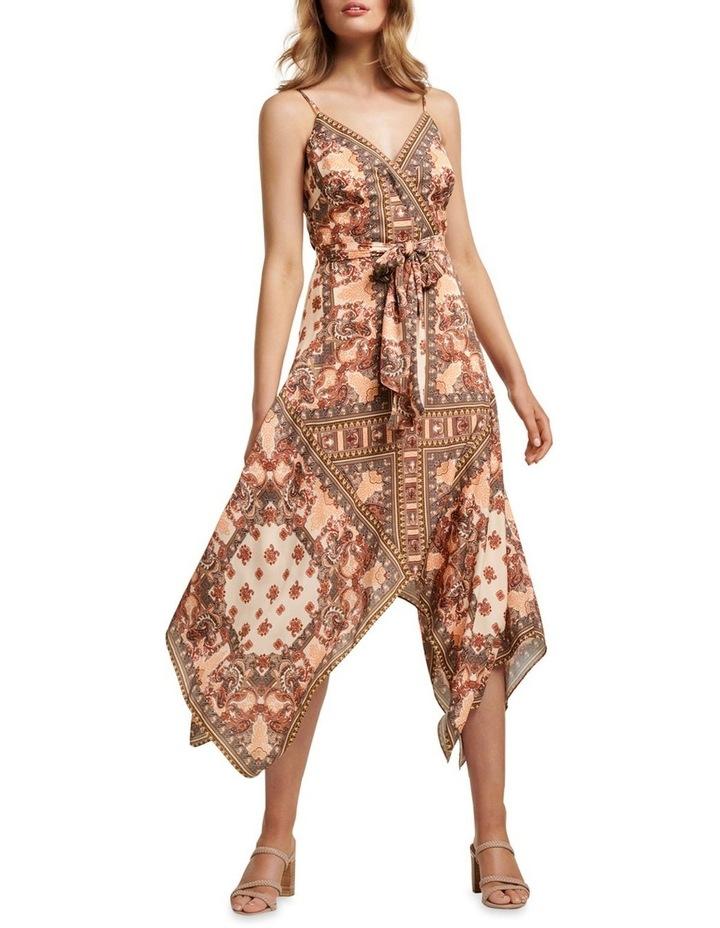 Renata Wrap Hanky Hem Dress image 1