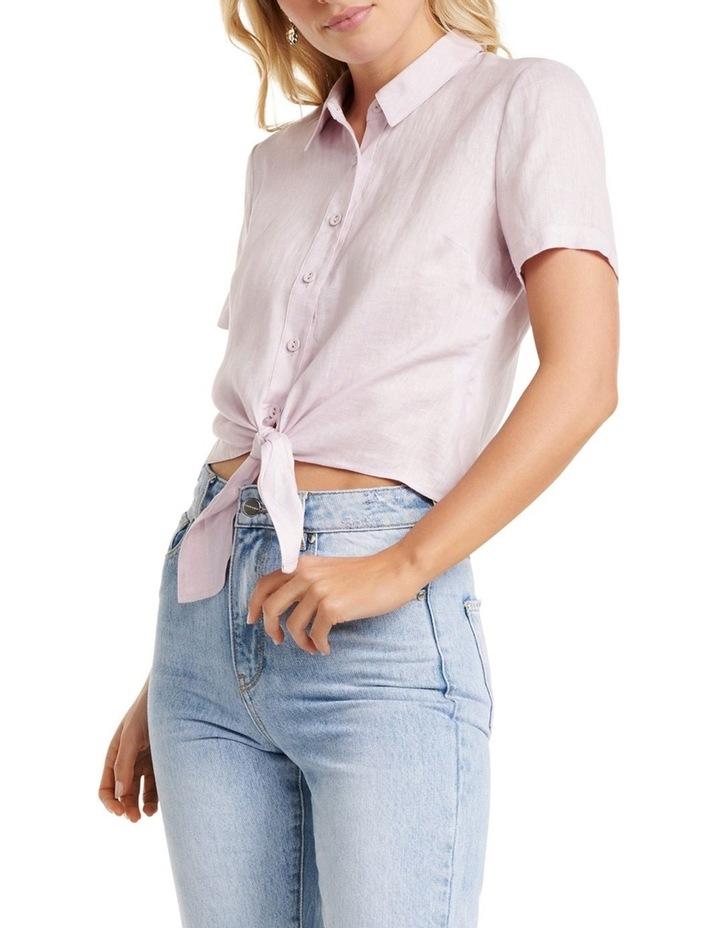 Ember Linen Short Sleeve Shirt image 1
