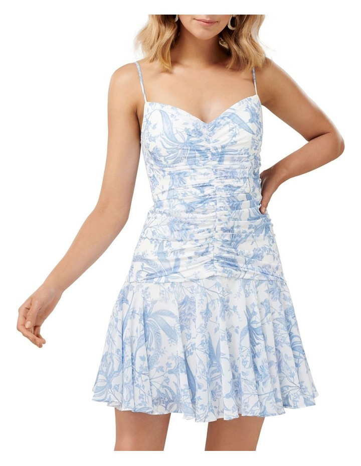 Eleni Ruched Mini Dress image 1