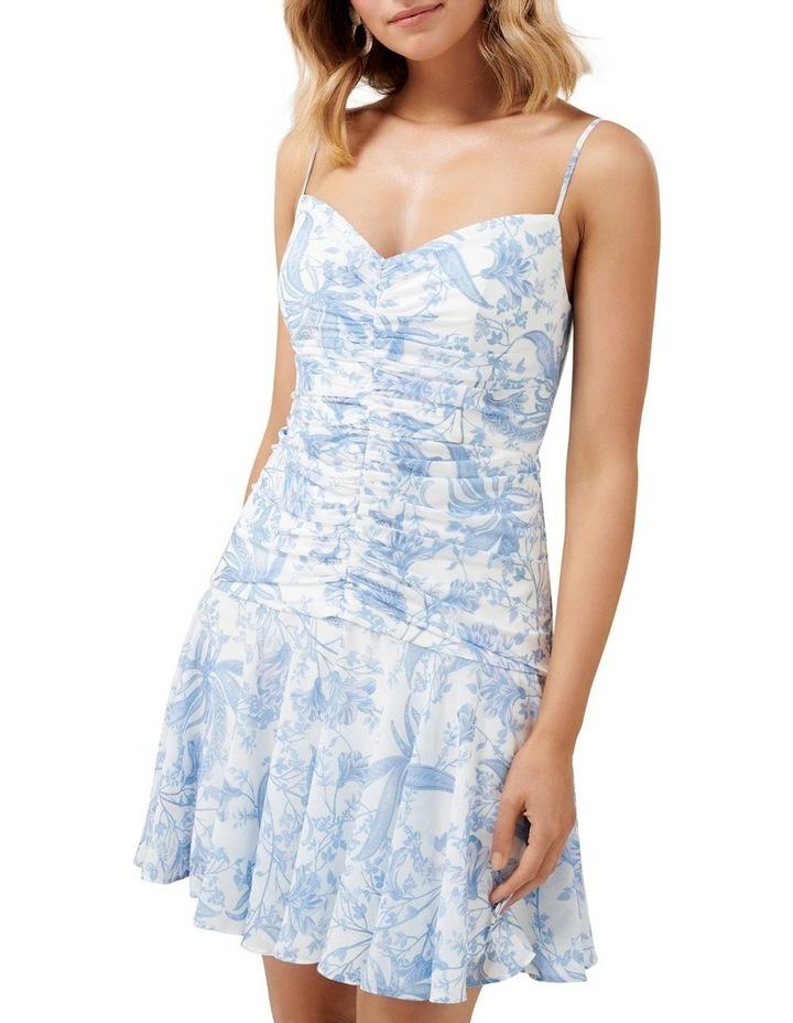 Eleni Ruched Mini Dress image 2