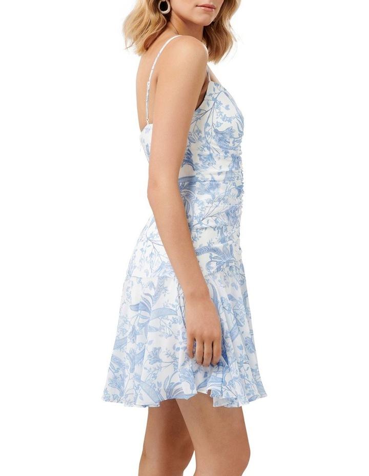 Eleni Ruched Mini Dress image 3